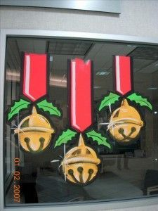 Painting windows for Christmas - Google Search