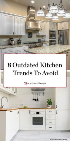 2020 kitchen cabinet trends We asked four real estate agents from around the country what kitchen trends are a bad investment. These are the ones you should probably skip. Updated Kitchen, New Kitchen, Kitchen Dining, Kitchen Decor, Kitchen Cabinets, Best Kitchen Layout, Kitchen Layout Plans, Galley Kitchen Design, Small Galley Kitchens