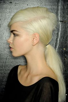 Marc Jacobs SS13 hair styling via Redken