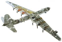 Intercontinental B-36 Bomber