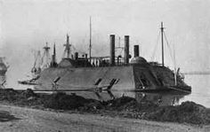 """Ironclad gunboat USS Essex was modified into a 355-ton """"timberclad"""" gunboat.  Retaining the name New Era, she took part in an expedition up the Cumberland River in November 1861. Renamed Essex soon thereafter, she received iron armor and other changes and was then actively employed in operations during early 1862, engaging Confederate gunboats near Lucas Bend, Missouri, on 11 January.  On 6 February, she was badly damaged by enemy gunfire during an attack on Fort Henry, Tennessee."""