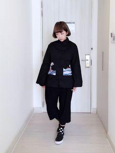 山東さんのDenim jacket「NO 」を使ったコーディネート