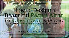 This article contains all you need to know to design your own gorgeous pagan or wiccan altar. This post is the first of the How to Become a Witch Series, which I intend to be an ultimate guide on witchcraft and neopaganism.