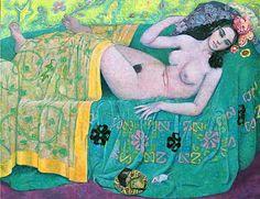 Nombril De Bonne Soeur à l'Epazote (2008) 89 x 116 cm Myrtille Henrion Picco