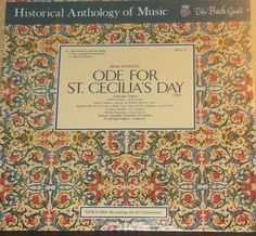 Henry Purcell Ode For St.Cecilia's Day Ambrosian Singers Alfred Deller Sealed Vinyl Classical Record Album by RASVINYL on Etsy