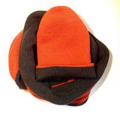 шапка спицами, шапка бини  меринос, шапка двухсторонняя. Снуд спицами, снуд двойной двусторонний.  merino wool, fair isle knitting, knitted hat, scarf