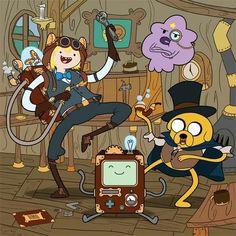 Steampunk Adventure Time
