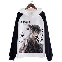 Noragami aragoto thicken hoodie  Yukine Yato cosplay costumes autumn winter jacket male female Hot Japanese Anime DW  LA QUIERO :'(