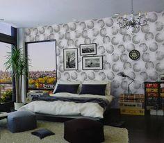 Essa é uma das opções da coleção da Loja Ciça Braga para os casais mais modernos que gostam de uma decoração de parede mais urbana! Você pode comprar papel de parede acessando a nossa loja. Confira outros modelos, ache o papel de parede para quarto ideal para você, compre com o melhor preço e qualidade!