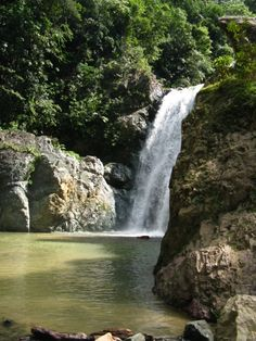The Dominican is full of beautiful waterfalls! Our students get to visit many of them