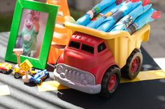 "Photo 1 of 24: Cars / Trucks / Birthday ""Cayson's 1st Birthday"" | Catch My Party"