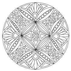 – Color Therapy Pages - Malvorlagen Mandala Pattern Coloring Pages, Mandala Coloring Pages, Coloring Pages To Print, Colouring Pages, Adult Coloring Pages, Coloring Books, Coloring Sheets, Mandala Pattern, Zentangle Patterns