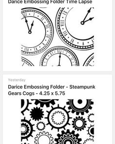 Another Kate made design Tonight I put all my embossing folders into @Evernote. I accidentally bought these 2 Designs again. They were on clearance. . I feel a giveaway coming.