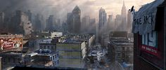 Matte Painting - Tom Clany's The Division