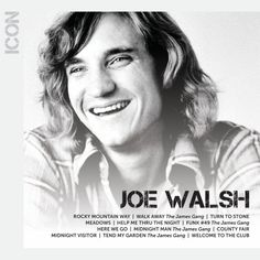 Joe Walsh joined the legendary Eagles in the mid-`70s as their lead guitarist. Description from tower.com. I searched for this on bing.com/images