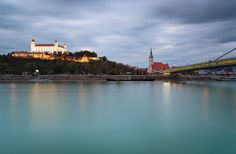 This is one of the most famous views of the castle in Bratislava. I was there on a business trip last week and I managed to go out to capture this view. I was lucky to have some clouds on that even…