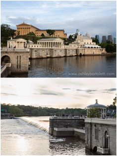 location: phila waterworks with the phila art museum in the background (great photo ops!)