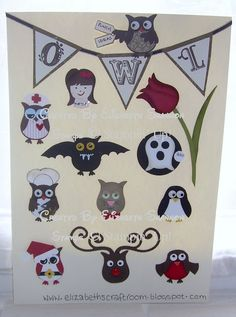 elizabeth's craft room: Owl Punch Ideas - I want this punch