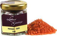 Sea salt from the Pacific Ocean. Sea Salt, Hawaiian, Grilling, Spices, Treats, Salt, Red, Goodies, Spice