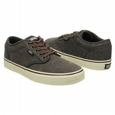 3e69521bc314  54.99 Athletics Vans Men s Atwood Black Wash FamousFootwear.com Vans Off  The Wall