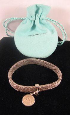 Tiffany & Co. Tiffany Signature 175th Anniversary Charm & Mesh Bracelet Small #TiffanyCo