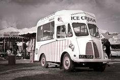 Pink Ice Cream Van