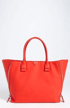 MARC JACOBS 'Sheila' Rubberized Leather Tote available at #Nordstrom