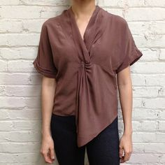 Emily Front Twist Top Acorn, $69, now featured on Fab.