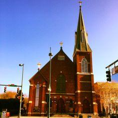 "St. Peter's Catholic Church, Charlotte, NC ""And Simon he surnamed Peter;"" (Mark 3:16)"