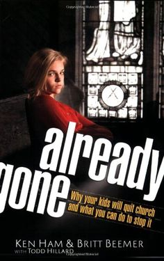 Already Gone: Why your kids will quit church and what you can do to stop it by Ken Ham http://www.amazon.com/dp/0890515298/ref=cm_sw_r_pi_dp_j0XTtb1NS49S90JN