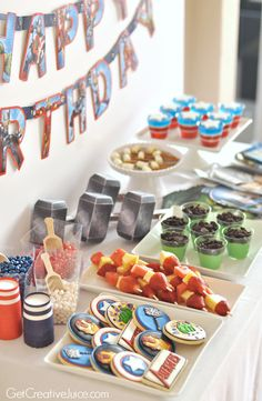 Avengers Party Ideas!