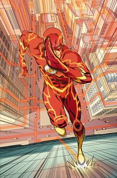 THE FLASH #28 Written by BRIAN BUCCELLATO Art by PATRICK ZIRCHER Cover by PASQUAL FERRY