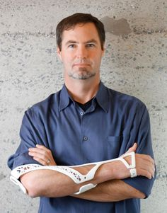 <p>When Scott Summit, senior director of functional design at 3D Systems, tore a ligament he thought there had to be a better way to heal than spending six months in a clumsy and bulky fiberglass cast.</p>
