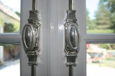 Unique French door hardware ~ http://topdesignset.com/french-door-hardware-for-your-mighty-house/