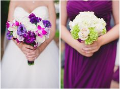 purple, pink and white // Images by Brita Photography