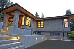 St. Andrews Renovation - contemporary - Exterior - Vancouver - Blackfish Homes Ltd.