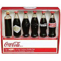 Coca-Cola Bottle Evolution Mini-Set by Coca-Cola Coca-Cola