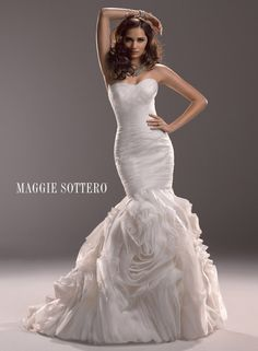 Maggie Sottero Primrose Dress. NOTE TO SELF: Camarillo Bridal carries Maggie Sottero. Yay!!!