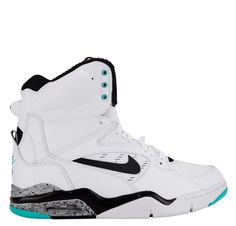 new style e1041 89a82 Nike Air Command Force White Black Wolf Grey Hyper Jade