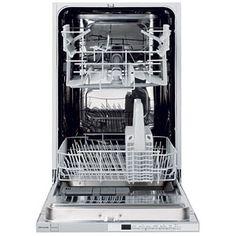John Lewis JLBIDW901 Integrated Slimline Dishwasher  White Free 2 Year  Guarantee. Designed For Kitchens · Apartment Size ...