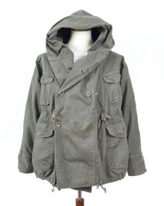 Kapital Ring Vintage Army Inspired Coat