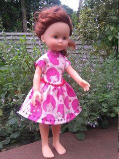Jurk voor Corolle mes cheries  https://www.etsy.com/listing/461385030/disco-chick-dress-for-les-cheries