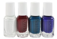 Essie Silk Watercolor: Abstract Floral set of minis – Canadians, enter to win at www.imabeautygeek.com