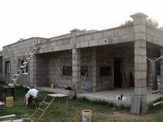 1000 images about casas de bloques on pinterest world for Casas industrializadas