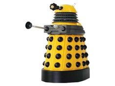 Doctor Who Dalek Paradigm Figures - Yellow Eternal Dalek