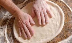 If you don& have yeast you can make pizza dough using self rising flour. This is a guide about making pizza dough with self rising flour. No Yeast Pizza Dough, Making Pizza Dough, Easy Pizza Dough, Pizza Dough Recipe With Self Rising Flour, Biscuit Pizza Dough Recipe, 2 Ingredient Pizza Dough, Best Homemade Pizza, Curd Recipe, Homemade Biscuits