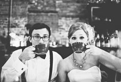Coffee!! Photography by emilychidesterphotography.com/#/special/splash/  Read more - http://www.stylemepretty.com/2011/12/26/brooklyn-wedding-by-emily-chidester-photography/