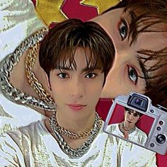 Aesthetic Movies, Jaehyun Nct, Jung Jaehyun, Indie Kids, Cute Icons, Kpop Boy, Poster Wall, Nct 127, Pretty Boys