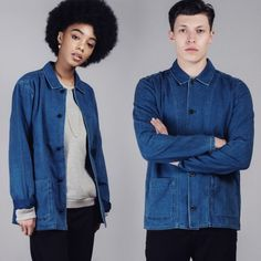Hub are an independent London fashion retailer of designer clothes online & via their UK shops. Buy Scandinavian clothing, British fashion brands & more. Elegantes Business Outfit, British Fashion Brands, Business Outfits, London Fashion, Blue Denim, Jackets, Shopping, Clothes, Women