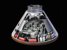 Orion capsule.